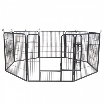 ZOOMUNDO Large Pet Play Pen / Puppy Area - 8 Pieces – Bild 3
