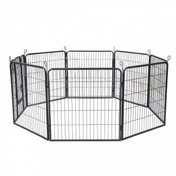ZOOMUNDO Large Pet Play Pen / Puppy Area - 8 Pieces – Bild 4