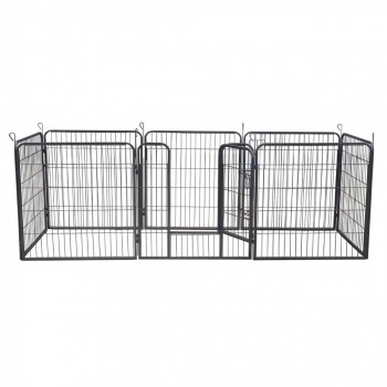ZOOMUNDO Large Pet Play Pen / Puppy Area - 8 Pieces – Bild 5