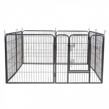 ZOOMUNDO Large Pet Play Pen / Puppy Area - 8 Pieces – Bild 6
