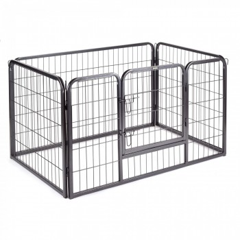 ZOOMUNDO Small Pet Play Pen / Puppy - Area 4 Pieces – Bild 1