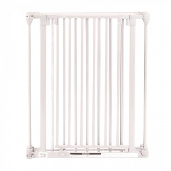 BABY VIVO Comfortable Barrier Metal 4+1 - Fire guard / heater guard white – Bild 4