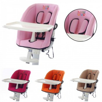 BABY VIVO Replacement Cover for design aluminum highchair – Bild 1