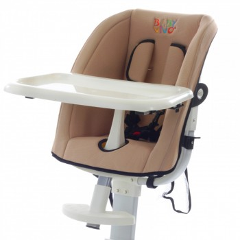 BABY VIVO Replacement Cover for design aluminum highchair – Bild 4