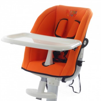 BABY VIVO Replacement Cover for design aluminum highchair – Bild 5