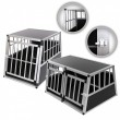 ZOOMUNDO Hundetransportbox / Kofferraumbox aus Aluminium - Premium