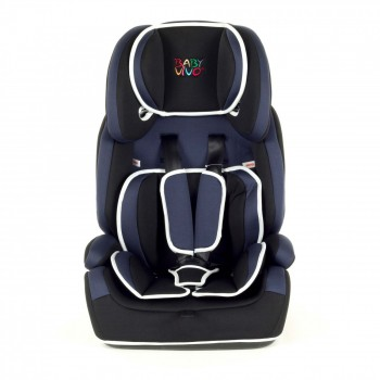 BABY VIVO Car Seat for Children TOM from 9-36 kg - Group 1+2+3 in blue/black – Bild 2