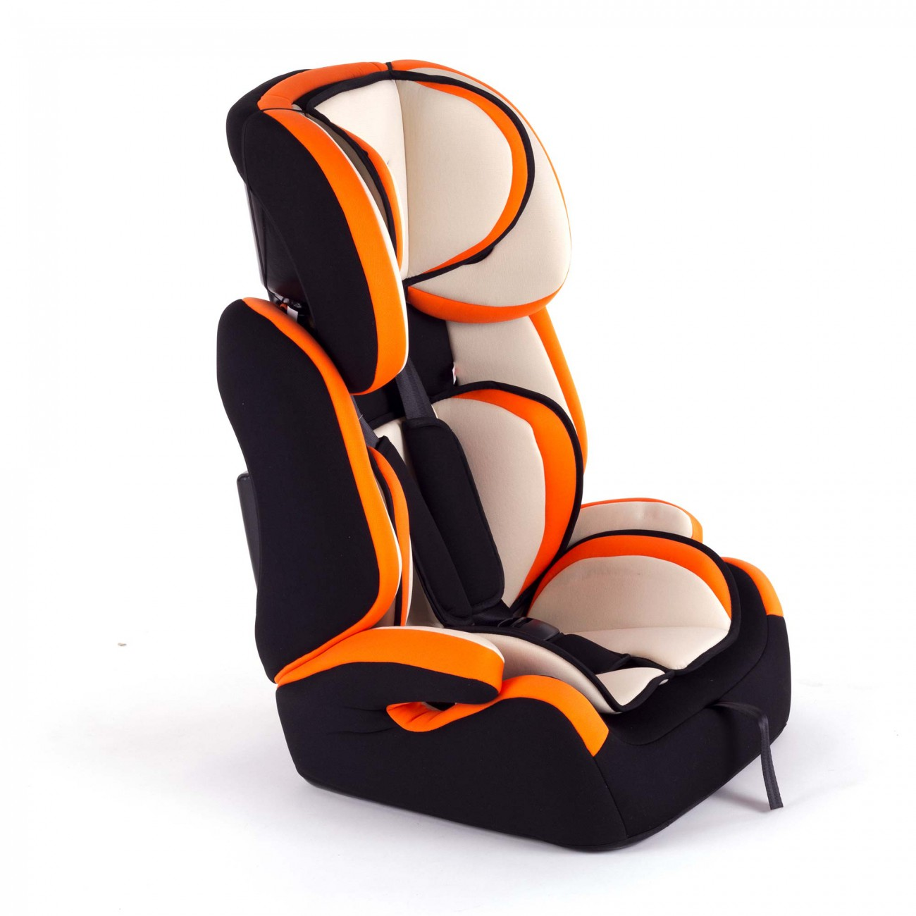 baby vivo kindersitz autositz tom von 9 36 kg f r gruppe 1 2 3 in orange creme baby kind. Black Bedroom Furniture Sets. Home Design Ideas