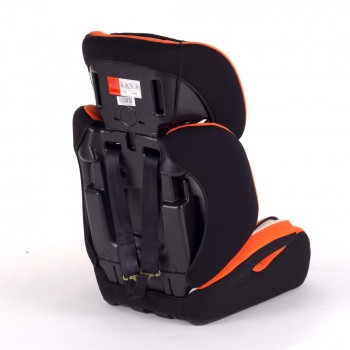 BABY VIVO Car Seat for Children TOM from 9-36 kg - Group 1+2+3 in orange/cream – Bild 5