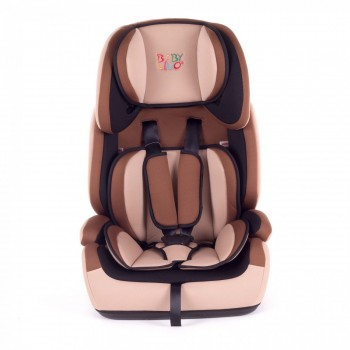 BABY VIVO Car Seat for Children TOM from 9-36 kg - Group 1+2+3 in brown/beige – Bild 2