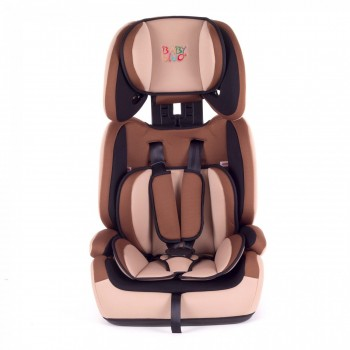 BABY VIVO Car Seat for Children TOM from 9-36 kg - Group 1+2+3 in brown/beige – Bild 3