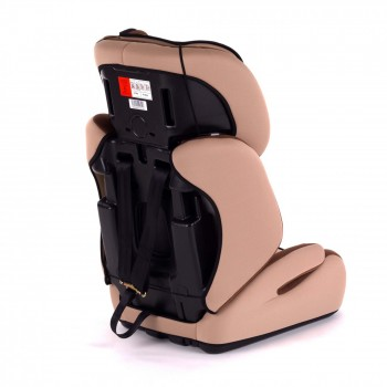 BABY VIVO Car Seat for Children TOM from 9-36 kg - Group 1+2+3 in brown/beige – Bild 5