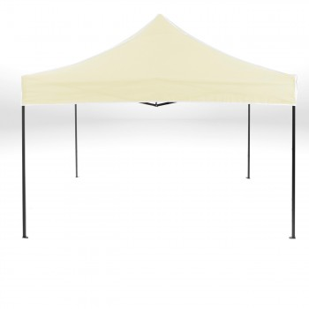 Strattore Foldable Gazebo with Canopy / Garden Tent - 3,0 x 3,0 x 3,20 m in Light yellow – Bild 1