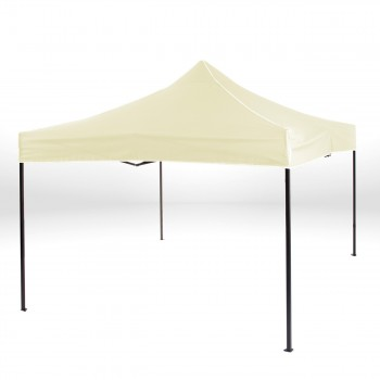 Strattore Foldable Gazebo with Canopy / Garden Tent - 3,0 x 3,0 x 3,20 m in Light yellow – Bild 2