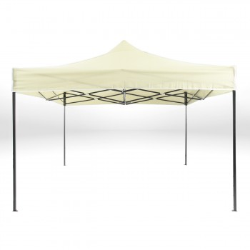 Strattore Foldable Gazebo with Canopy / Garden Tent - 3,0 x 3,0 x 3,20 m in Light yellow – Bild 3