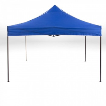 Strattore Foldable Gazebo with Canopy / Garden Tent - 3,0 x 3,0 x 3,20 m in Blue – Bild 1