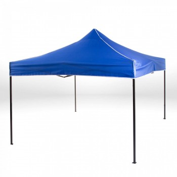 Strattore Foldable Gazebo with Canopy / Garden Tent - 3,0 x 3,0 x 3,20 m in Blue – Bild 2