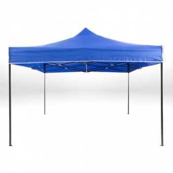 Strattore Foldable Gazebo with Canopy / Garden Tent - 3,0 x 3,0 x 3,20 m in Blue – Bild 3