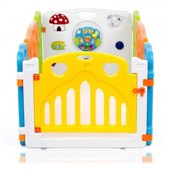 Baby Vivo Foldable Baby Child Playpen COLORS Main Package - Expandable – Bild 3