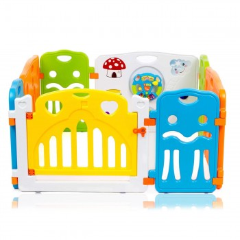 Baby Vivo Foldable Baby Child Playpen COLORS Main Package - Expandable – Bild 2