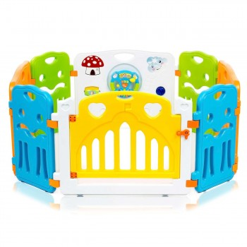 Baby Vivo Foldable Baby Child Playpen COLORS Main Package - Expandable – Bild 1