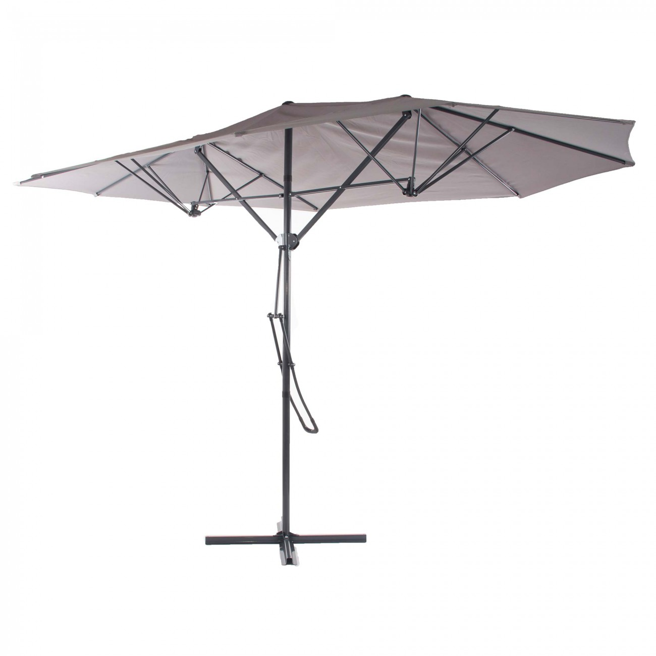 jardin parasol parapluie ombrelle cantilever aluminium. Black Bedroom Furniture Sets. Home Design Ideas