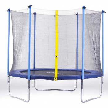 SAMAX Trampoline 3.66 m (12 ft) Safety Net in Blue – Bild 1
