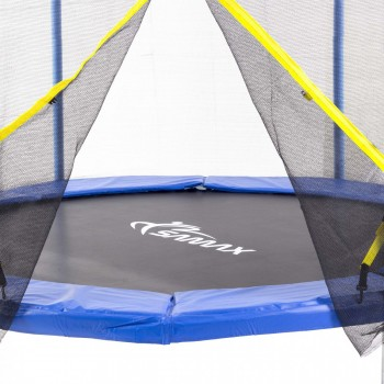 SAMAX Trampoline 3.66 m (12 ft) Safety Net in Blue – Bild 2