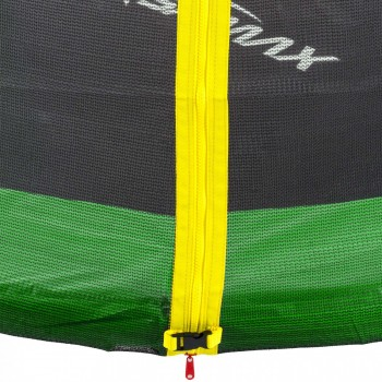 SAMAX Trampoline 3.66 m (12 ft) Safety Net in Green – Bild 3