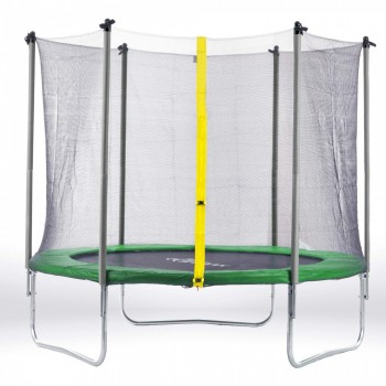 SAMAX Trampoline 4.27 m (14 ft) Safety Net in Green – Bild 1