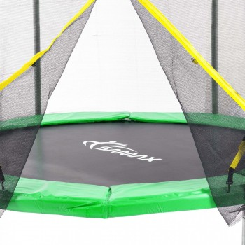 SAMAX Trampoline 4.27 m (14 ft) Safety Net in Green – Bild 2