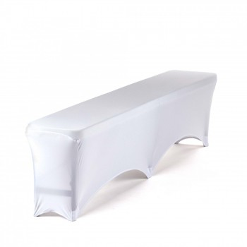 Strattore Set 2x Bench Cover 1x Table Cover white – Bild 3