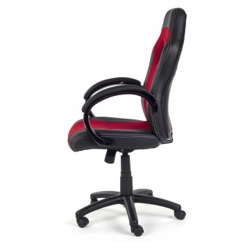 MY SIT Office Chair Racing V12 Red Synthetic Leather – Bild 4