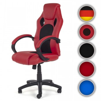 MY SIT Racing Chair Bürostuhl aus Kunstleder V8