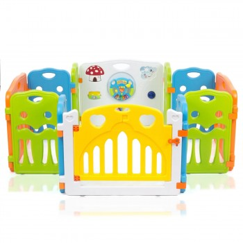 Baby Vivo Large Foldable Baby Child Playpen COLORS XL Main Package - Expandable – Bild 3