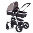 Baby Vivo Kinderwagen 2in1 Kombination - Braun