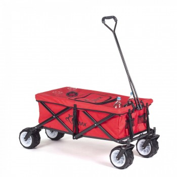 SAMAX Foldable Hand Cart Offroad Cool - Red – Bild 3