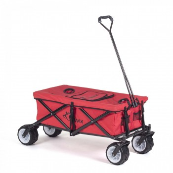 SAMAX Foldable Hand Cart Offroad Cool - Red – Bild 1