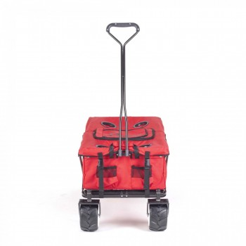 SAMAX Foldable Hand Cart Offroad Cool - Red – Bild 2