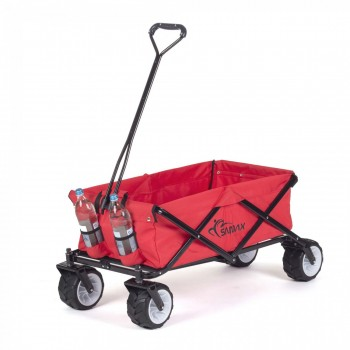 SAMAX Foldable Hand Cart Offroad Cool - Red – Bild 6
