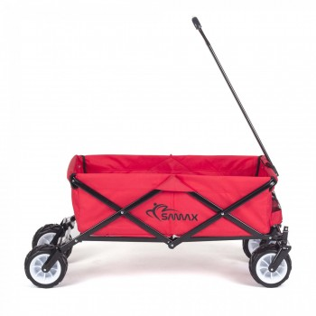 SAMAX Foldable Hand Cart Offroad Cool - Red – Bild 7
