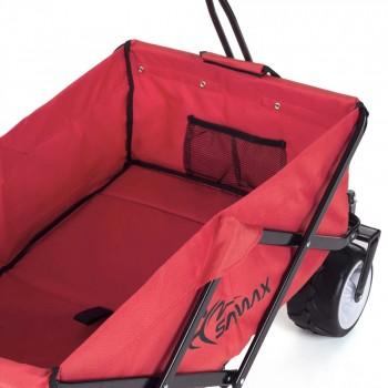 SAMAX Foldable Hand Cart Offroad Cool - Red – Bild 9