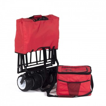 SAMAX Foldable Hand Cart Offroad Cool - Red – Bild 10