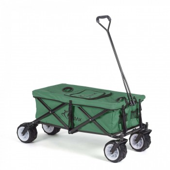 SAMAX Foldable Hand Cart Offroad Cool - Green – Bild 1