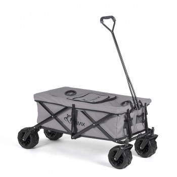 SAMAX Foldable Hand Cart Offroad Cool - Grey – Bild 1