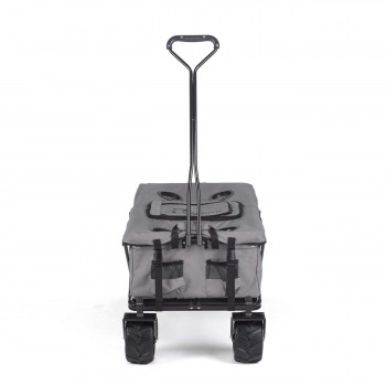 SAMAX Foldable Hand Cart Offroad Cool - Grey – Bild 2