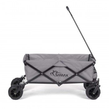 SAMAX Foldable Hand Cart Offroad Cool - Grey – Bild 7
