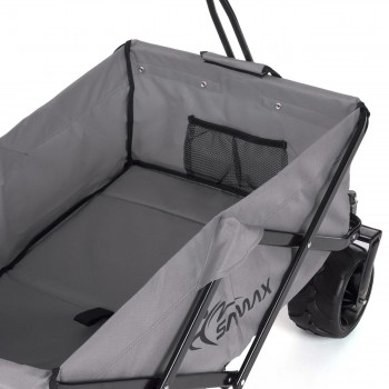 SAMAX Foldable Hand Cart Offroad Cool - Grey – Bild 9