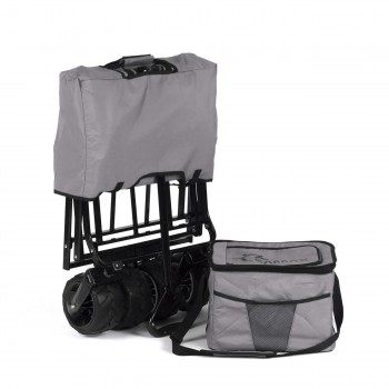 SAMAX Foldable Hand Cart Offroad Cool - Grey – Bild 10