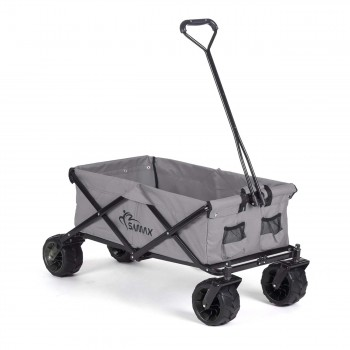 SAMAX Foldable Hand Cart Offroad - Grey – Bild 1